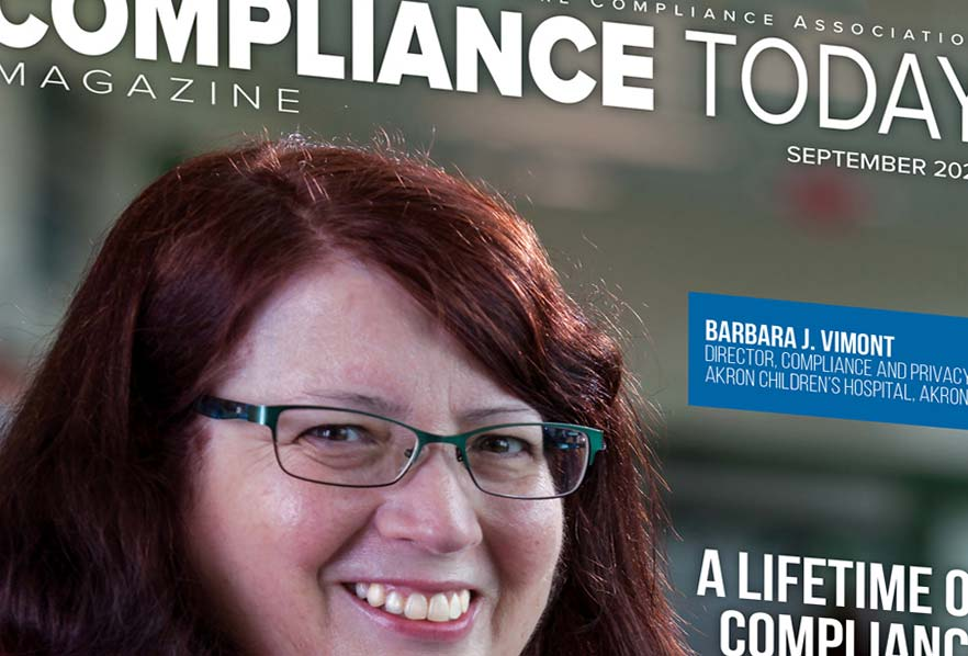 Compliance Today Magazine