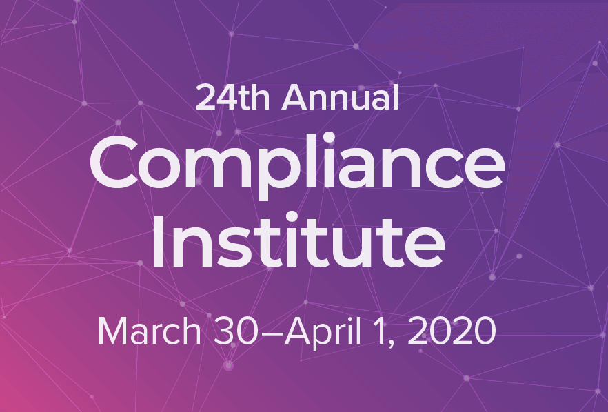 2020 Compliance Institute (CI)