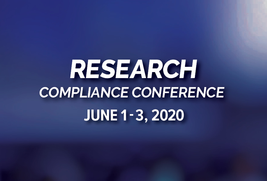 2020 Research Compliance Conference